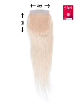 Shri SilverFox Indian Shri Closure - Straight - Blond
