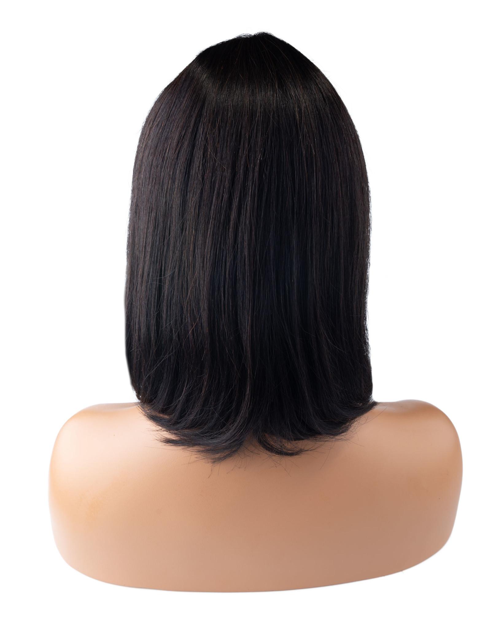 Shri SilverFox Indian Shri Front Lace Wig - BOB