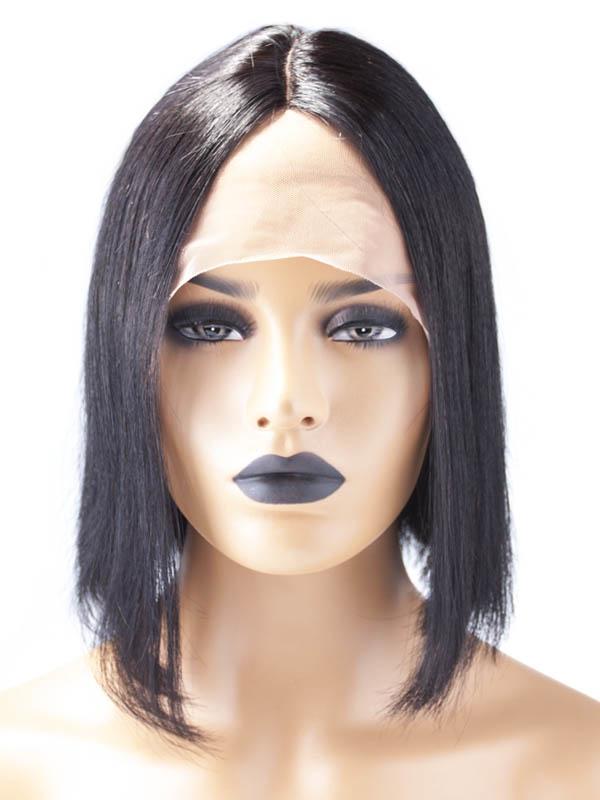 Shri SilverFox Indian Shri Front Lace Wig - BOB Schuin