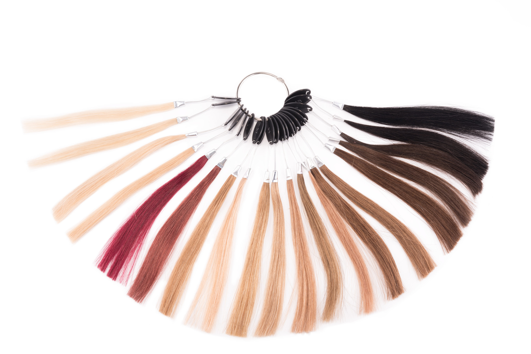 Hairextensions kleurenring