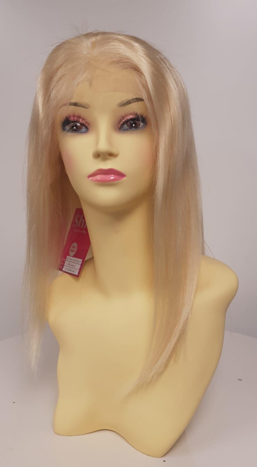 Shri SilverFox Indian Shri Front Lace Wig - BOB - BLOND