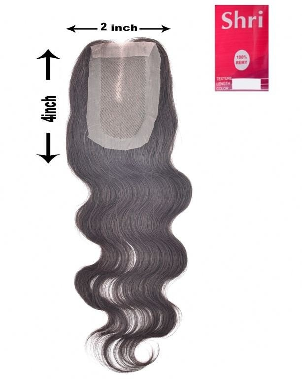 Shri SilverFox Indian Shri Closure - Body Wave