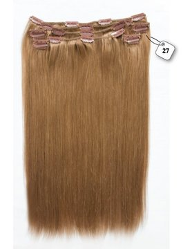 RedFox Clip-in Extensions - Straight - #27 Dark Blonde