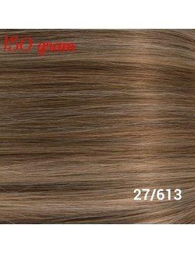 RedFox Clip-in Extensions 45cm - Extra Volume - 150 gram #27/613 Dark Blonde/Light Blonde