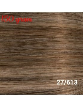 RedFox Clip-in Extensions 45cm - Extra Volume - 150 gram #27/613 Dark Blonde/Light Blonde
