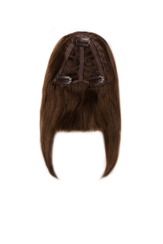 RedFox Clip-in Pony - #4 Chocolate Brown