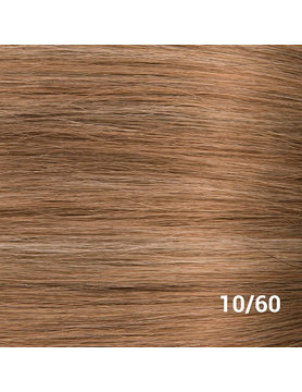 SilverFox Weave - #10/60 Dark Strawberry Brown/ White Blonde