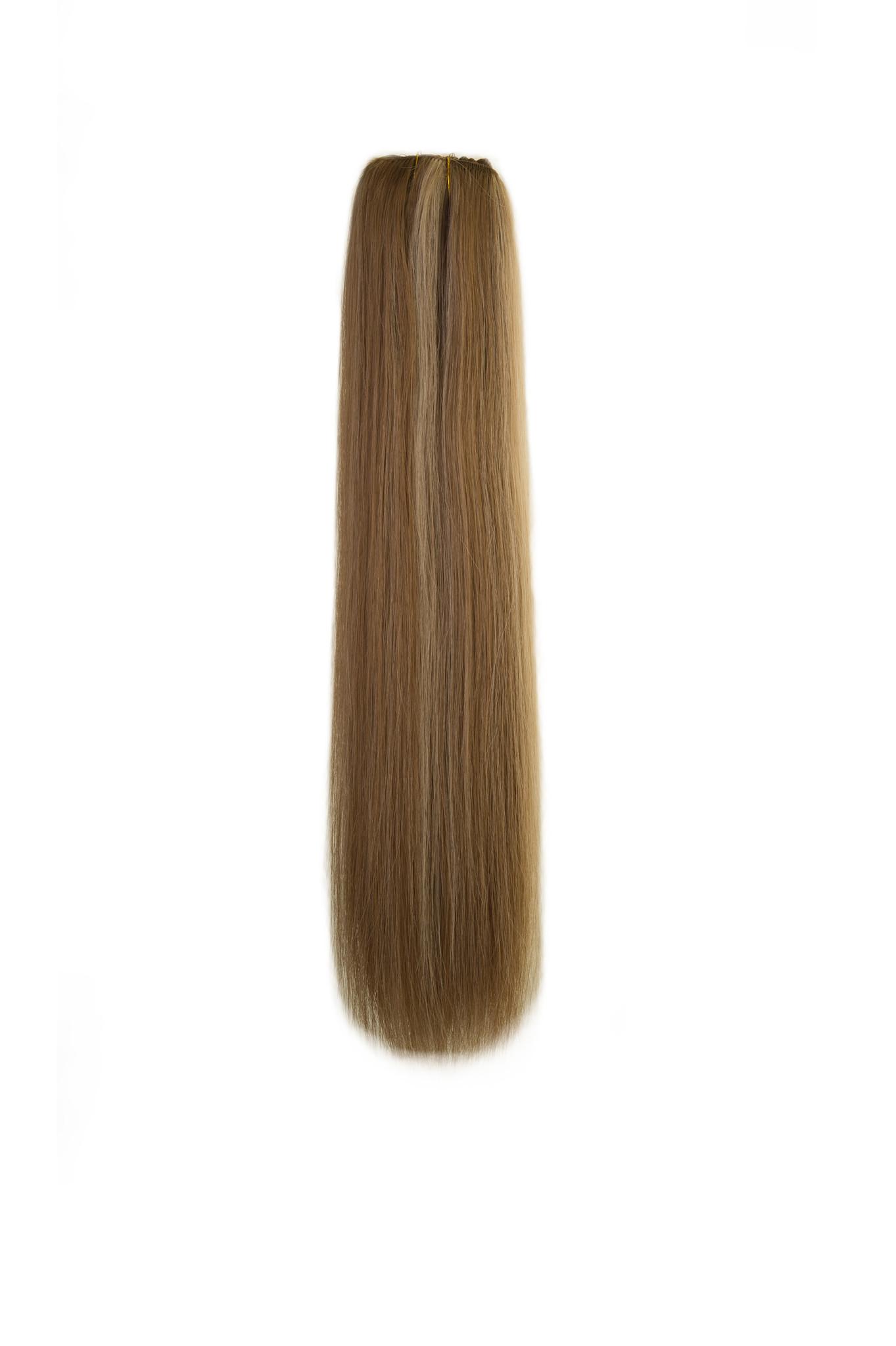 SilverFox Weave - #12/60 Ash Blonde/ White Blonde