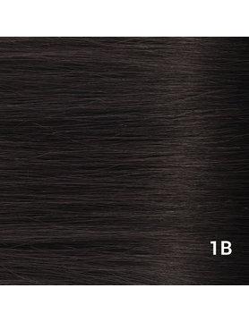 SilverFox Wax Extensions Deep Wave 55cm  #1b Natural Black