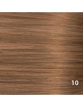 SilverFox Wax Extensions Deep Wave 55cm  #10 Dark Strawberry Brown