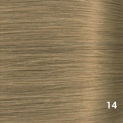 SilverFox Wax Extensions Deep Wave 55cm  #14 Warm Ash Blonde