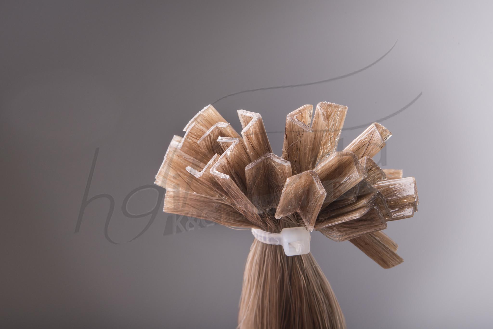 SilverFox Wax Extensions Deep Wave 55cm  #24 Warm Light Blonde