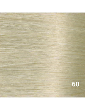 SilverFox Wax Extensions Deep Wave 55cm #60 White Blonde