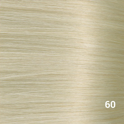SilverFox Wax Extensions Loose Wave 55cm #60 White Blonde