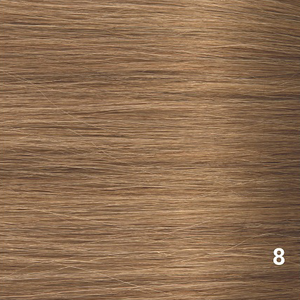 SilverFox Wax Extensions Loose Wave 55cm #8 Cinnamon