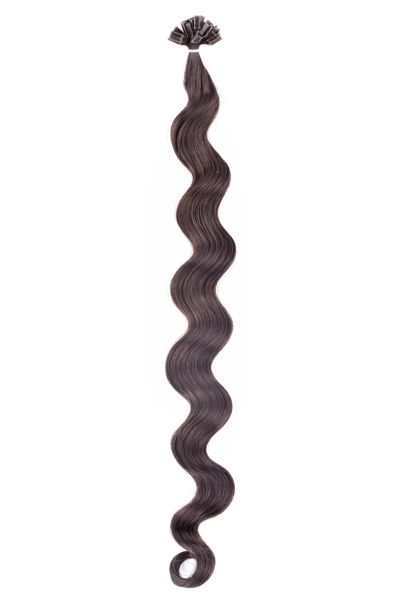 SilverFox Wax Extensions Loose Wave 55cm #6 Light Chestnut Brown