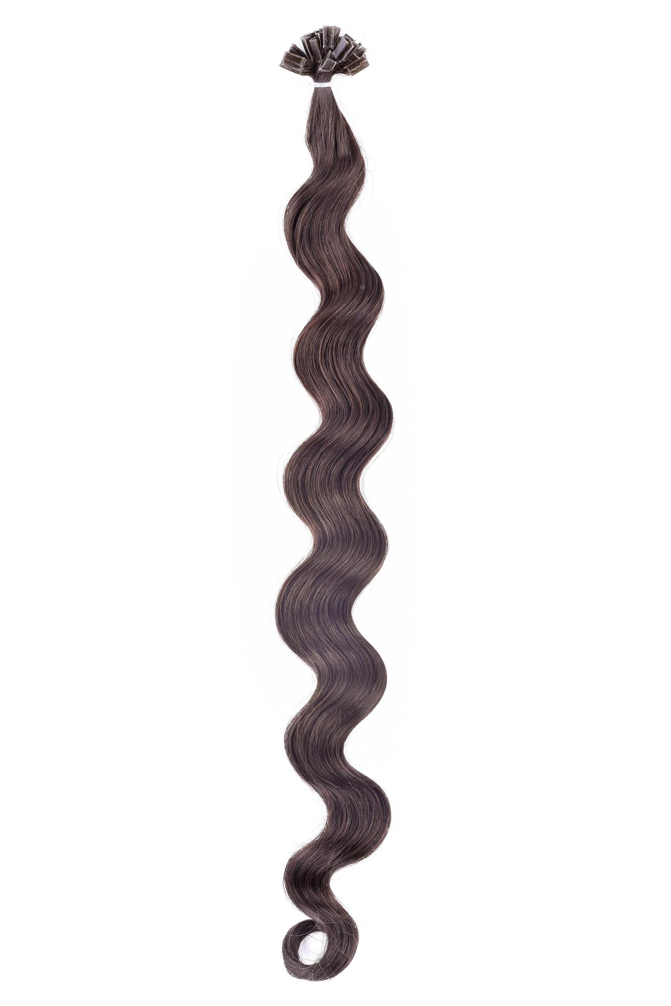 SilverFox Wax Extensions Loose Wave 55cm  #1 Jet Black
