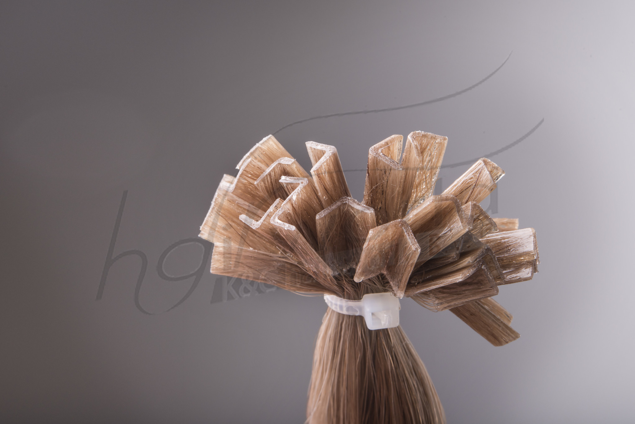 SilverFox Wax Extensions Steil #F6 Chestnut Brown
