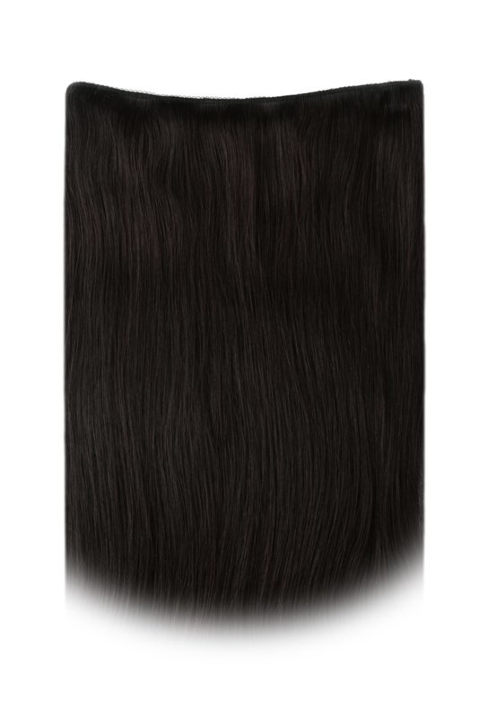 SilverFox Ez-Wire Extensions  #1b Natural Black