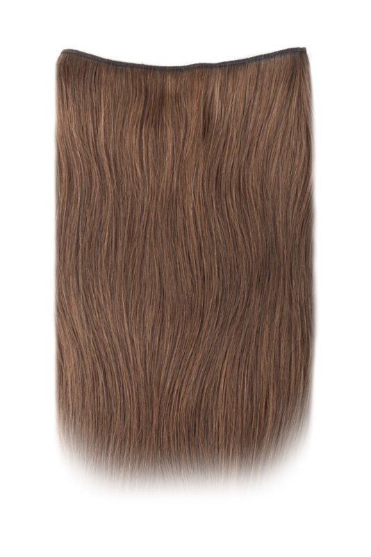SilverFox Ez-Wire Extensions  #F6 Chestnut Brown