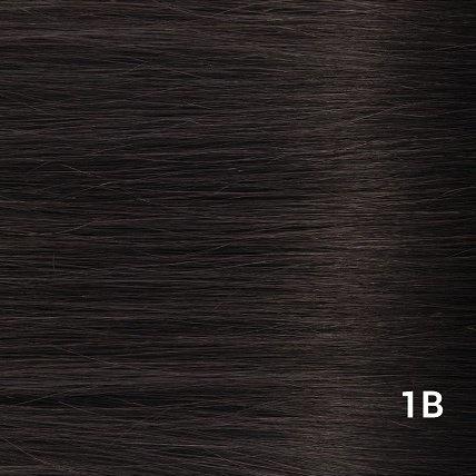SilverFox Tape Extensions Straight - #1b  Natural Black