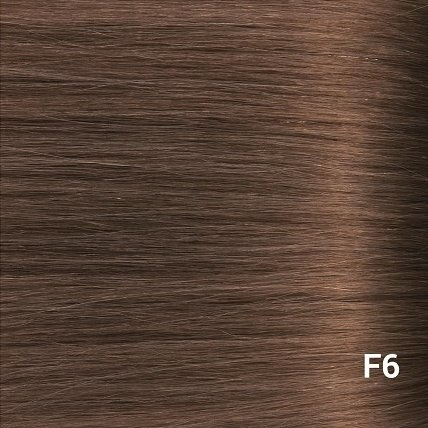 SilverFox Tape Extensions Straight - #F6 Chestnut Brown