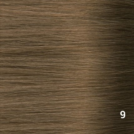 SilverFox Tape Extensions Straight - #F9 Olive Brown