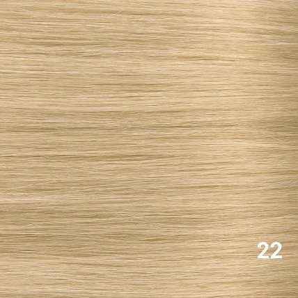 SilverFox Tape Extensions Straight - #22 Hollywood Blonde