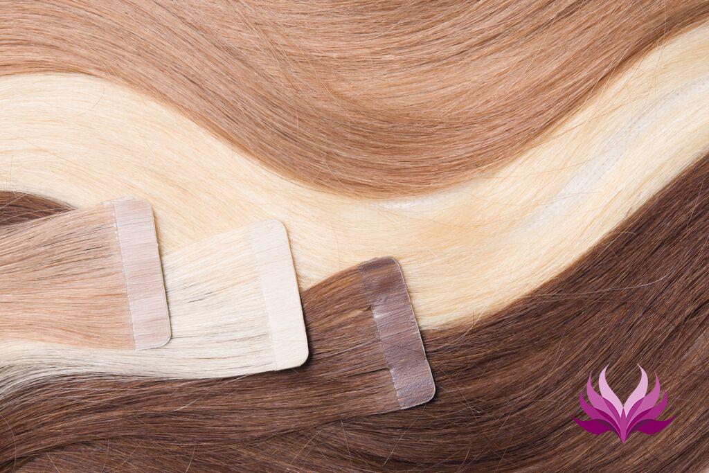 SilverFox Tape Extensions Straight - #27 Dark Blonde