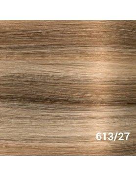 SilverFox Tape Extensions Straight - #613/27 Light Blonde/ Dark Blonde