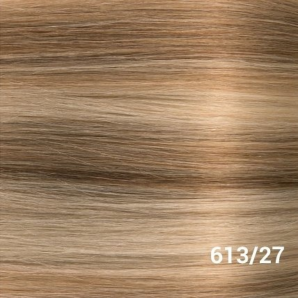 SilverFox Tape Extensions Straight - #613/27 Light Blonde/ Dark Blonde