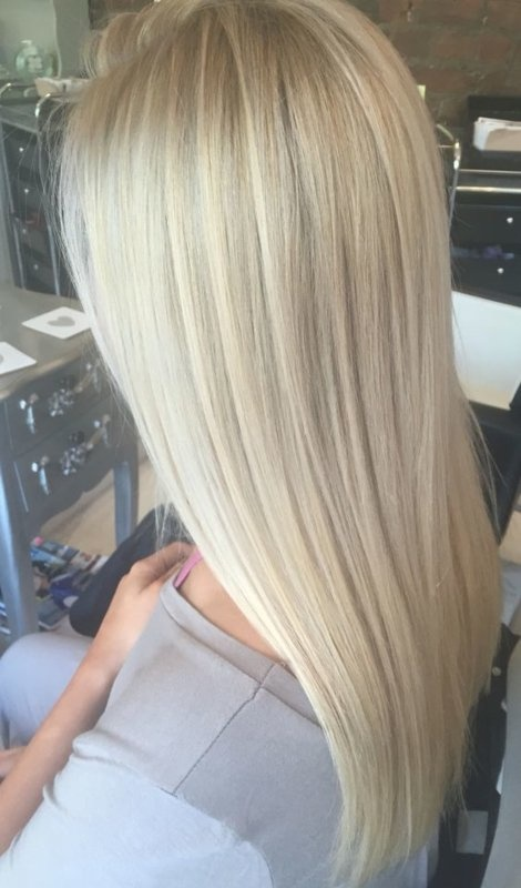 SilverFox Tape Extensions Straight - #T613/18R-60 Roots Light Olive Ash Blonde / White Blond - 50 cm