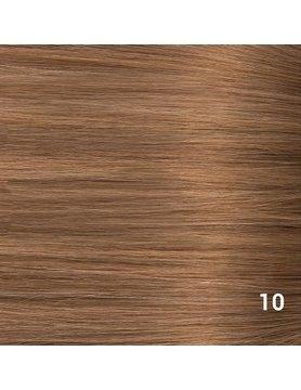SilverFox Microring Extensions - Steil -  #10 Dark Strawberry Brown