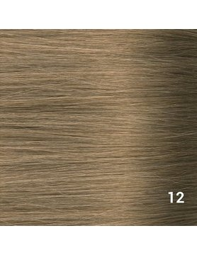SilverFox Microring Extensions - Steil -  #12 Ash Blonde