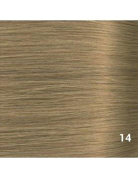 SilverFox Microring Extensions - Steil -  #14 Warm Ash Blonde