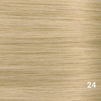 SilverFox Microring Extensions - Steil -  #24 Warm Light Blonde