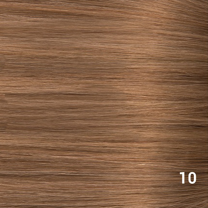 SilverFox Wax Extensions Steil  #10 Dark Strawberry Brown