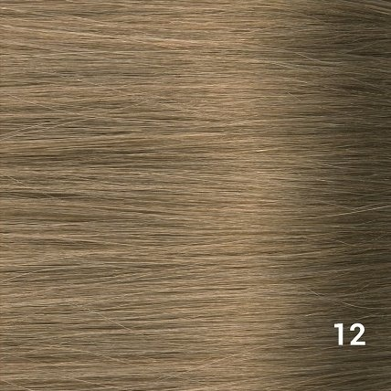 SilverFox Microring Extensions -  Loose Wave-  #12 Ash Blonde - 55 cm