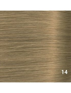 SilverFox Microring Extensions -  Loose Wave-  #14 Warm Ash Blonde- 55 cm