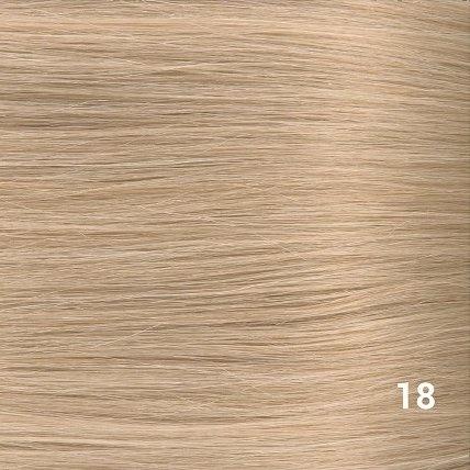 SilverFox Microring Extensions -  Loose Wave-  #18 Stawberry Blonde- 55 cm