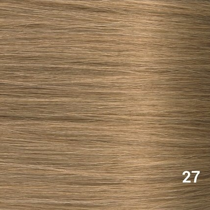 SilverFox Microring Extensions -  Loose Wave-  #27  Dark Blonde - 55 cm