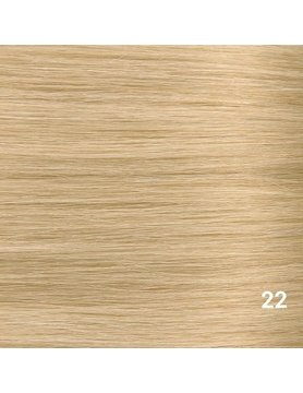 SilverFox Microring Extensions -  Loose Wave-  #22 Hollywood Blonde - 55 cm