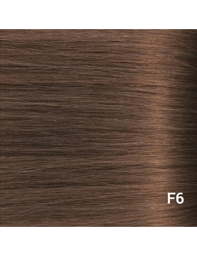 SilverFox Wax Extensions Steil #F6 Chestnut Brown