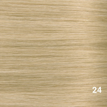 SilverFox Wax Extensions Steil  #24 Warm Light Blonde