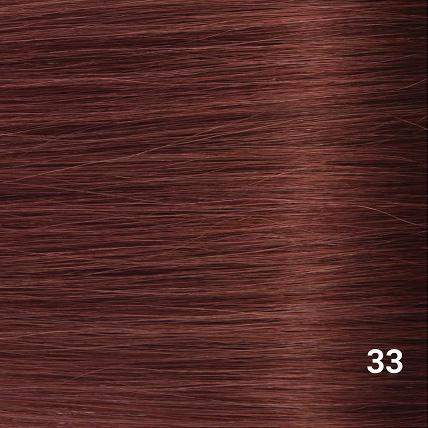 SilverFox Wax Extensions Steil  #33 Mahonie Red
