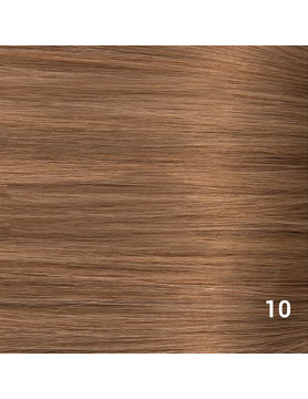 SilverFox Microring Loopring  Extensions - Steil - #10 Dark Strawberry Brown