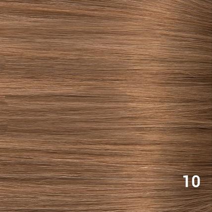 SilverFox Microring Loopring  Extensions - Steil - #10 Dark Strawberry Brown