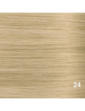 SilverFox Microring Loopring  Extensions - Steil - #24 Warm Light Blonde