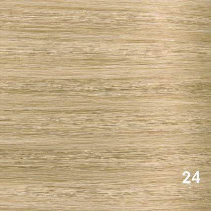 SilverFox Microring Loopring  Extensions - Steil - #24 Warm Light Blonde