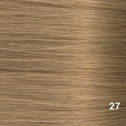 SilverFox Microring Loopring  Extensions - Steil - #27 Dark Blonde